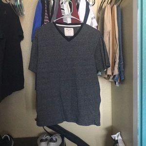 Dark Grey V-Neck Shirt